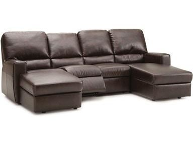 Palliser Furniture Living Room 5-Seat Curved Corner Large .