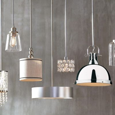 Orren Ellis Radtke 3-Light Single Drum Pendant | Products .