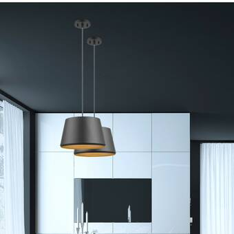 Orren Ellis Radtke 3 - Light Drum Pendant & Reviews | Wayfa