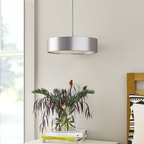 Broderick 3-Light Drum Pendant & Reviews | AllMode