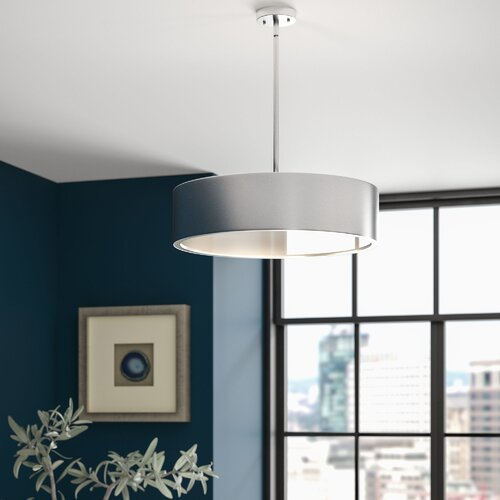 Radtke 3 Light Single Drum Pendants