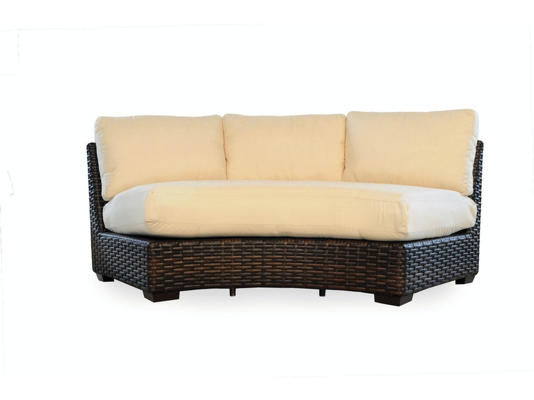 Lloyd Flanders Outdoor/Patio Curved Sectional Sofa 38056 - Furnish .