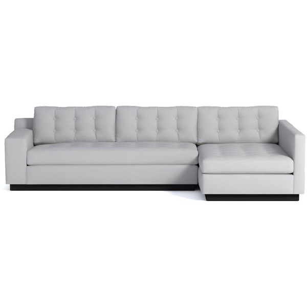 Apt2B Raleigh Stone 2Pc Sectional (€2.440) ❤ liked on Polyvore .
