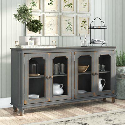 "Three Posts Raunds 67.5"" Wide Sideboard in 2020 