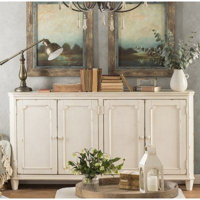 "Three Posts Raunds 67.5"" Wide Sideboard 