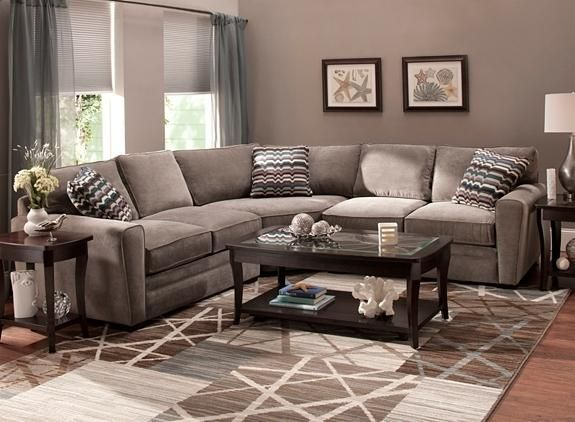 Artemis II 3-pc. Microfiber Sectional Sofa | Microfiber couch .