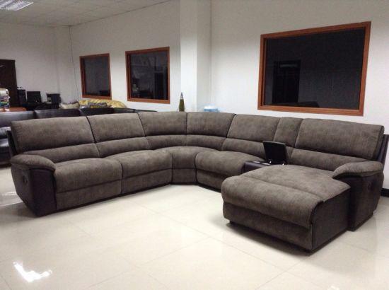 China Home Furniture U Shape Recliner Sofa Set - China Sofa, Furnitu
