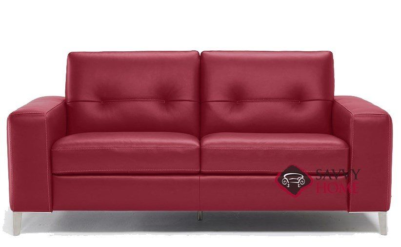 Red Leather Couches And Loveseats in 2020 | Red leather couches .