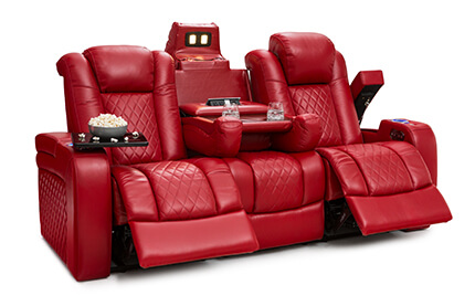 Seatcraft Anthem Home Theater Sectional - 4Seati