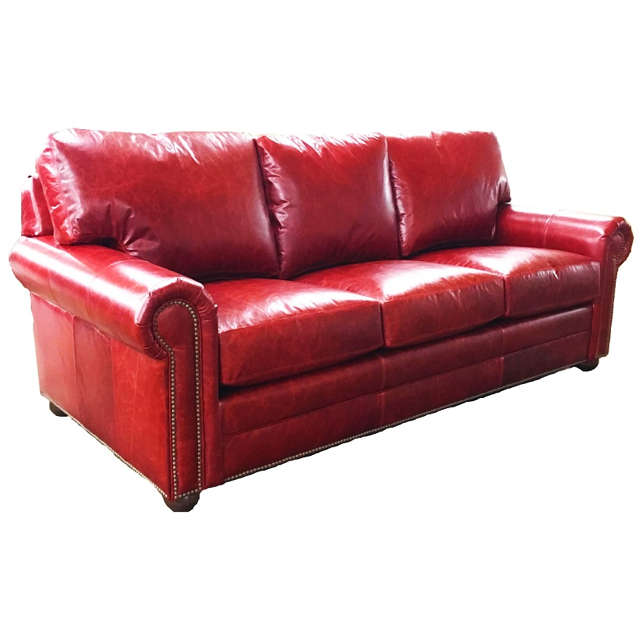 Red Leather So