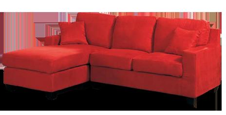 Red Sofa Furniture PNG Fi