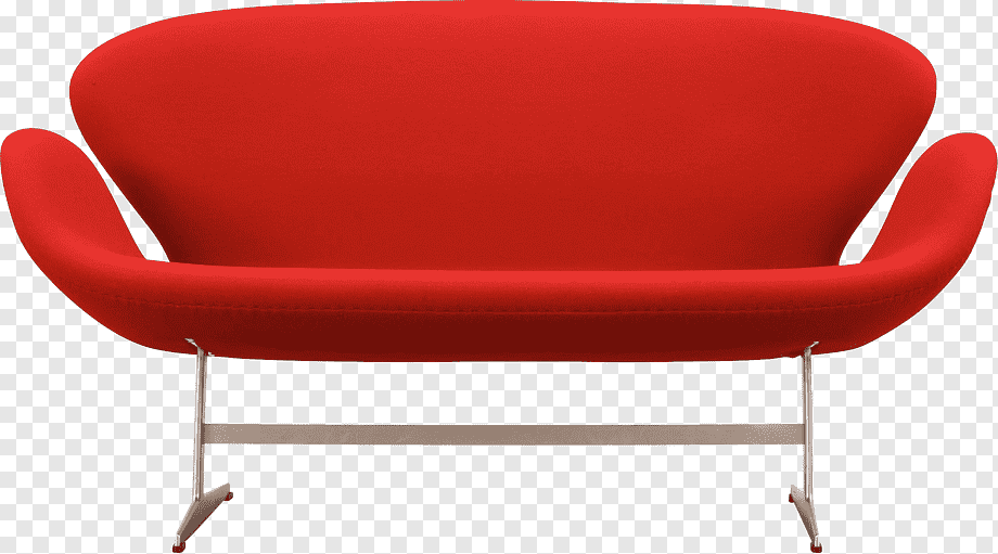 Red couch with gray steel base, Couch Table Chair Sofa bed Living .