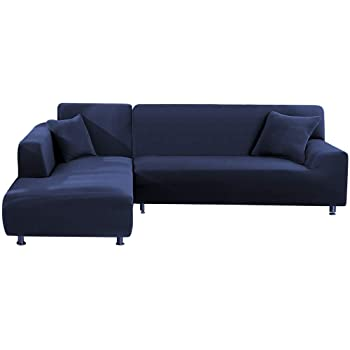Amazon.com: Popuppe Sectional Couch Covers L Shape Sofa Slipcover .