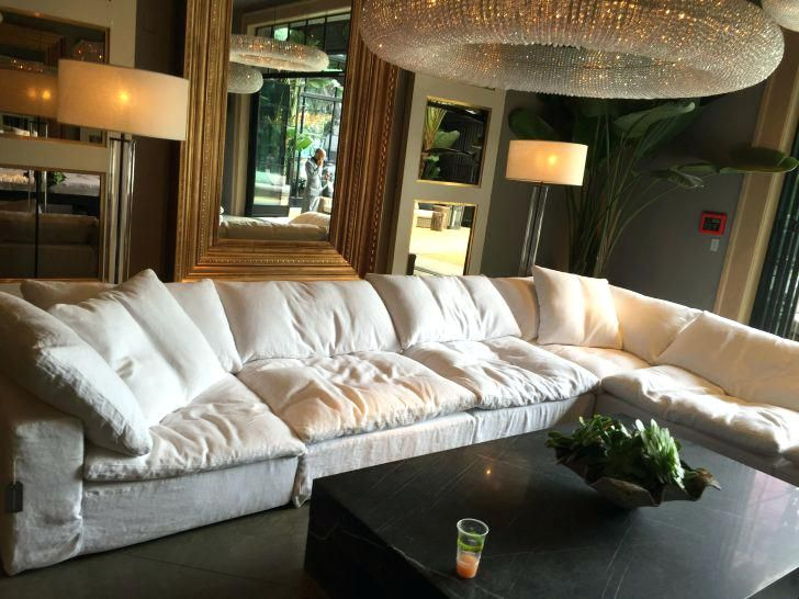 Nice Restoration Hardware Cloud Couch Reviews , Awesome .