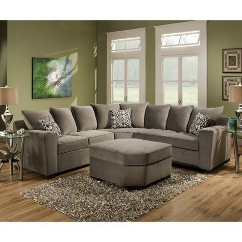 Roanoke Va Sectional Sofas (avec images) | Mobilier salon .