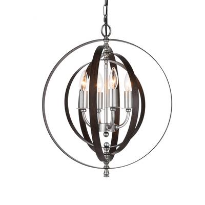 Rosdorf Park Malia 4-Light Pendant & Reviews | Wayfa