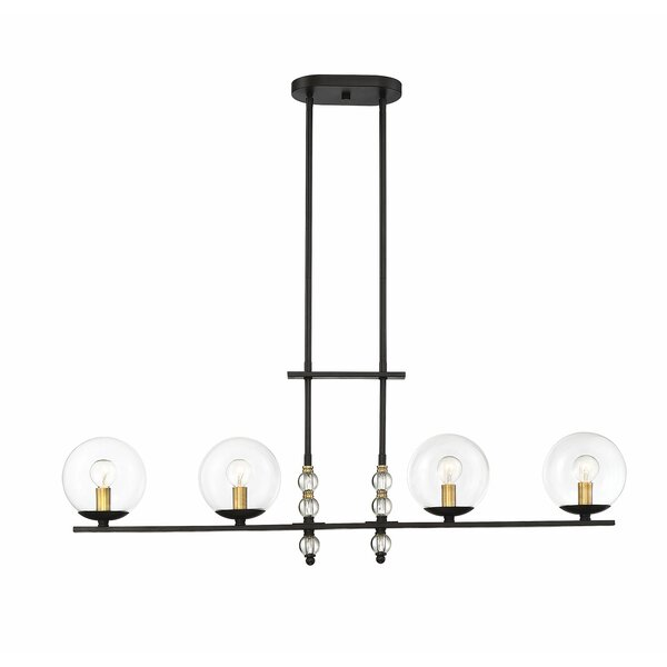 Ivy Bronx Hargraves 4-Light Kitchen Island Linear Pendant .