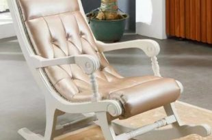 China Optional Color Wood Rocking Chair for Living Room Furniture .
