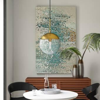 Charlton Home® Rockland 4 - Light Geometric Pendant & Reviews .
