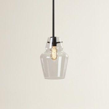 Roslindale 1-Light Single Bell Pendant | Bell pendant, Glass .