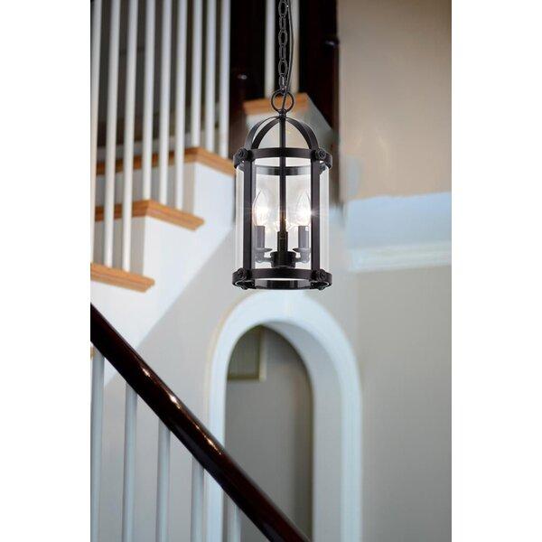 Charlton Home Slye 3 - Light Lantern Cylinder Pendant & Reviews .