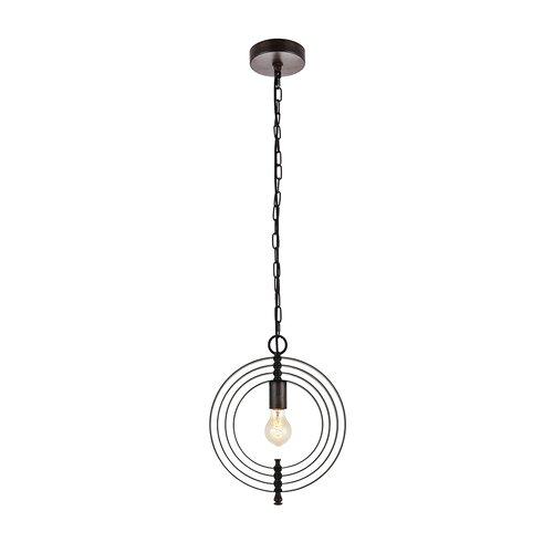 Rossi Industrial Vintage 1 Light Geometric Pendants