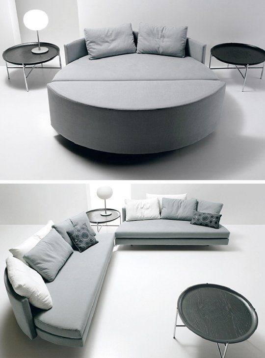 Round Beds, Round Mattresses & Round Sleeper Sofas | Round .