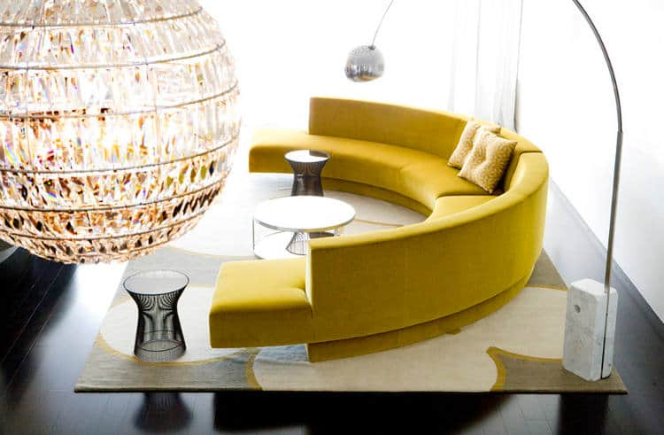 20 Round Couches That Will Steal The Sh