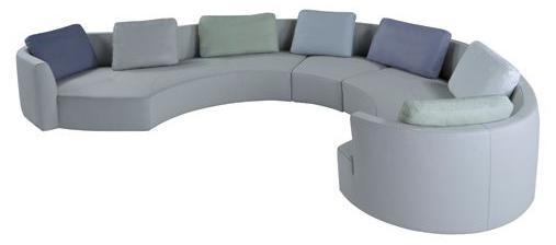 Tangram Round Sofa by Roche Bobois in Modular Sof