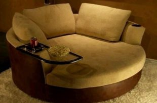 Round Sofa Chair - Thearmchairs.com | Round swivel chair, Swivel .