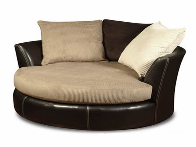 Round Swivel Sofa Chair - Home Modelling Style | Round sofa chair .