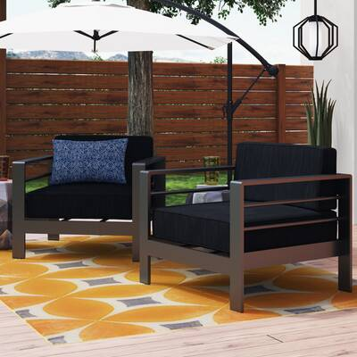 Brayden Studio Royalston Patio Sectional with Cushions | Wayfa