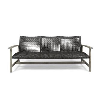 Royalston Patio Sofa with Cushions & Reviews | AllModern in 2020 .