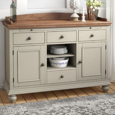 One Allium Way Halton Baker's Sideboard | Wayfair | Solid wood .