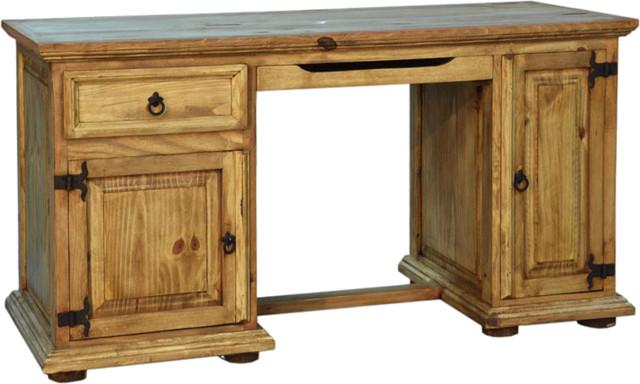 Rustic Computer Desk - Rustic - Desks And Hutches - by san carlos .