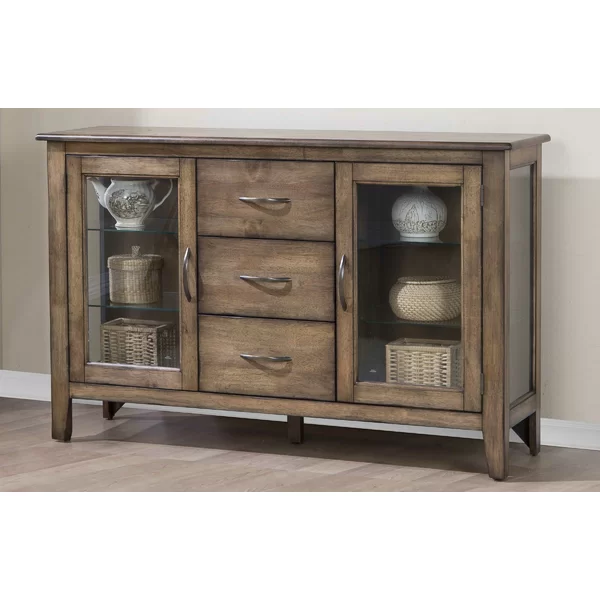 "Rutledge 54"" Wide 3 Drawer Sideboard 