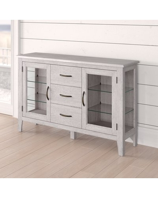 Can't Miss Deals on Rutledge Sideboard Rosecliff Heights Color: Gr