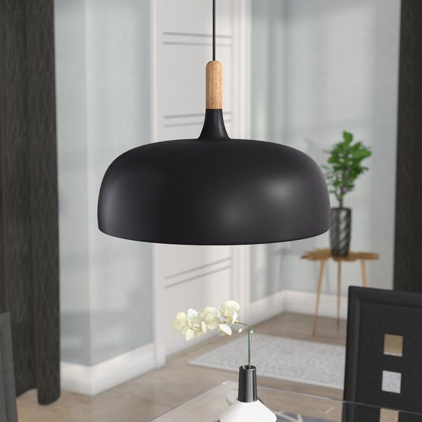 Ryker 1-Light Single Dome Pendant | Furniture deals, Light, Bowl .
