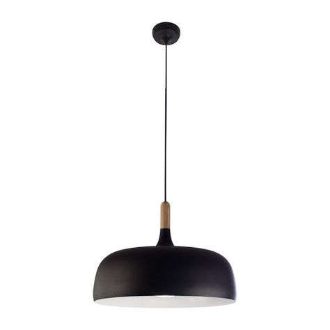 Ryker 1-Light Single Dome Pendant | Modern ceiling light, Pendant .
