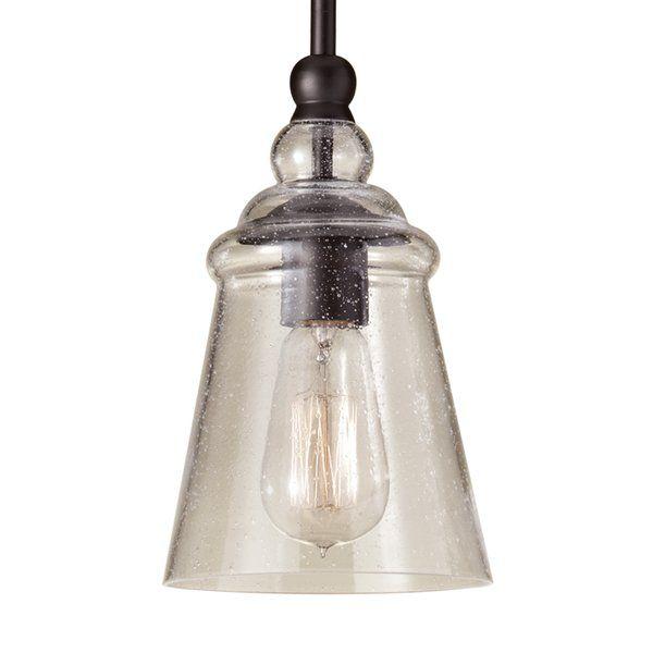 Sargent 1 Light Single Bell Pendants