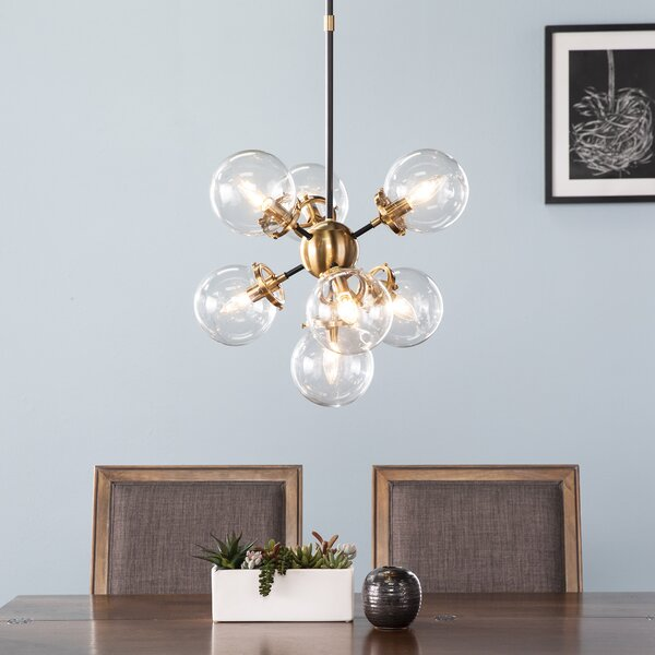 Latitude Run® Ulyana 7 - Light Cluster Globe Pendant & Reviews .