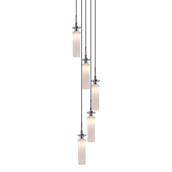Sonneman Candle 5 - Light Cluster Cylinder Pendant | Wayfa