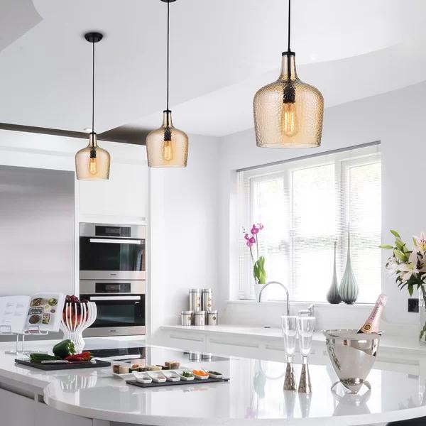 Scruggs 1-Light Geometric Pendant & Reviews | Birch Lane | Kitchen .