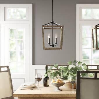 Scruggs 1 - Light Single Dome Pendant | Globe chandelier, Birch .