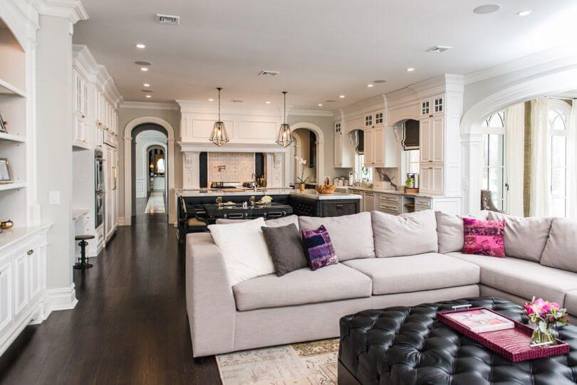 50 Beautiful Living Rooms with Ottoman Coffee Tabl