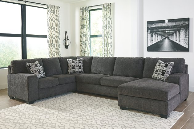 Ballinasloe 3-Piece Sectional with Chaise | Ashley Furniture HomeSto