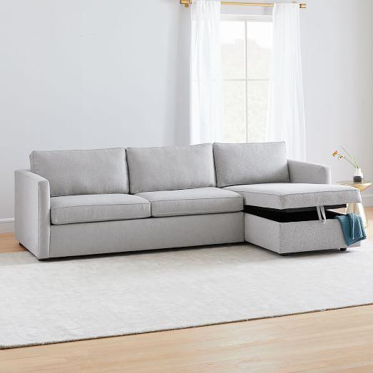 Harris 2-Piece Chaise Sectional w/ Stora