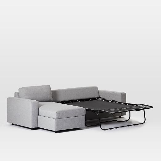 Urban Sleeper Sectional w/ Stora