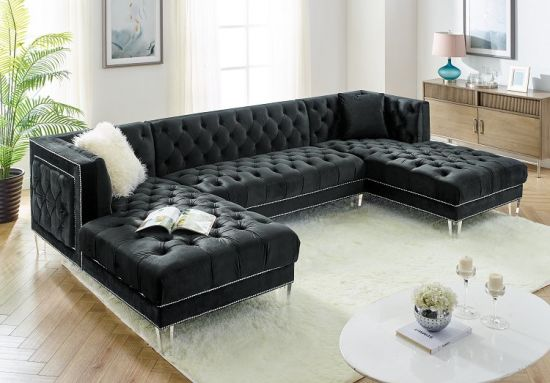 China Corner Group Modern Sofa Set 3PCS Sectional Sofas Sectionals .