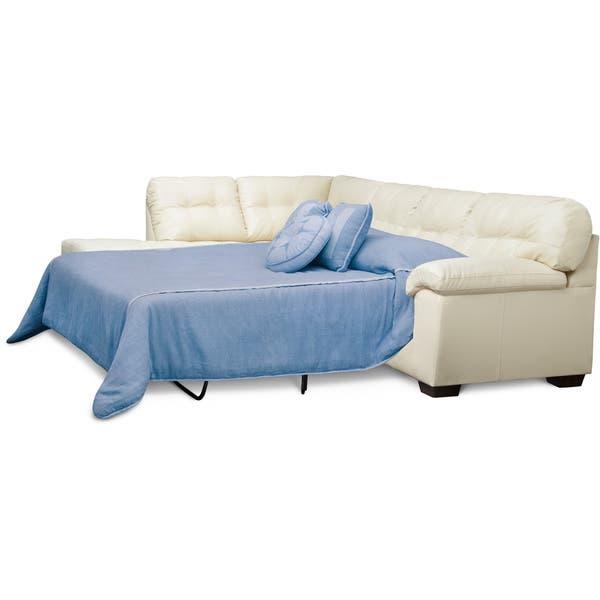 Shop Art Van Soho 2 Piece Sleeper Sectional - Overstock - 99490